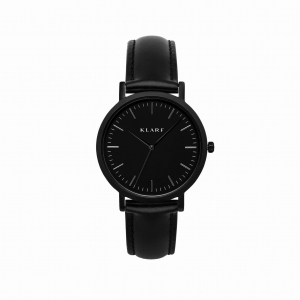 Zegarek Klarf Classic Black Leather
