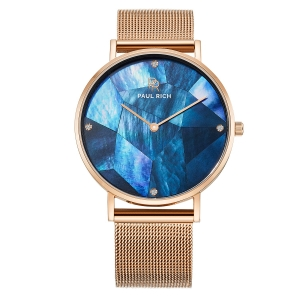 Zegarek Paul Rich Glam Rose Gold Mesh