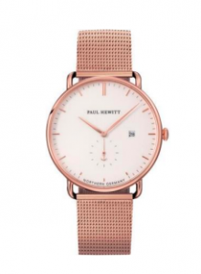 Zegarek Paul Hewitt Rose Gold/White Sand Mesh/Rose Gold