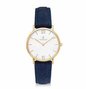 Zegarek Kapten Joy Night Blue Velvet Leather