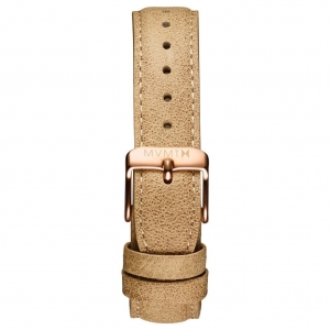 Pasek MVMT Signature - 18mm Beige Leather