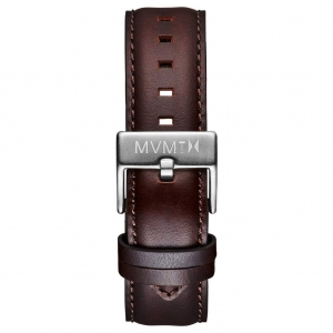 Pasek MVMT 40 Series - 20mm Brown Leather