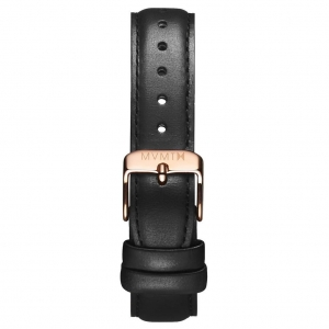 Pasek MVMT Signature - 18mm Black Leather