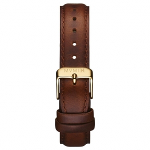 Pasek MVMT Signature - 18mm Brown Leather