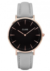 Zegarek Cluse La Boheme  Rose Gold Black/Grey