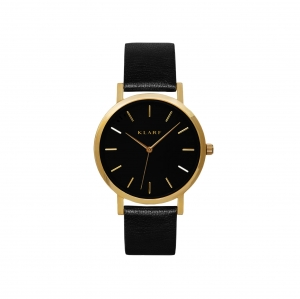Zegarek Klarf Classic Gold/Black Leather